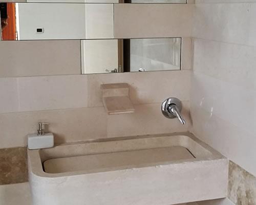 Bagno In Pietra Bianca : News biancone di trani pavimenti rivestimenti piatti doccia