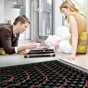Riscaldamento a pavimento su pietra naturale