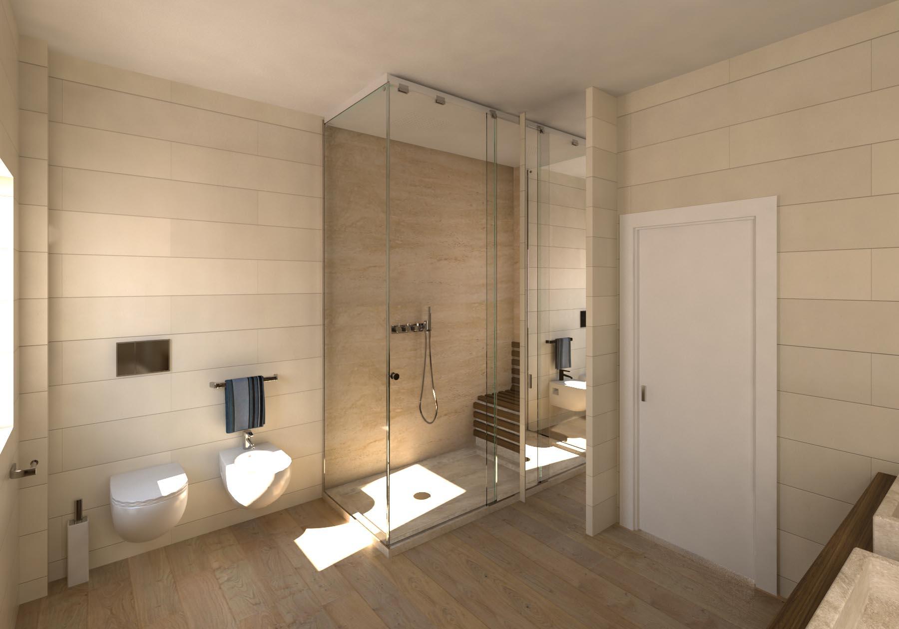 Bagni Moderni Con Pietra : Bagni rustici in pietra progetto bagno con di elementi